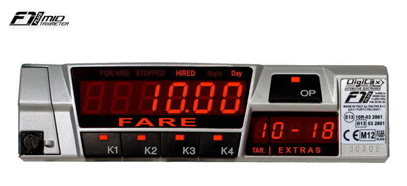 f1 plus taximeter by digitax