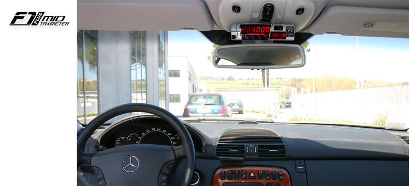 F1 Plus Taximeter by Digitax