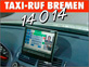 The German Radio Taxi Taxi-Ruf Bremen ch